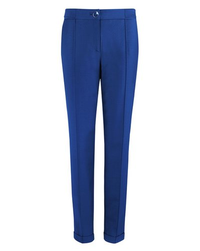 DEOLI Tailored shiny peg leg trouser
