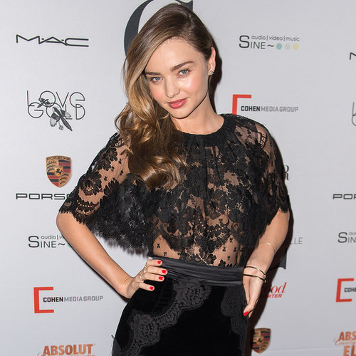 Miranda Kerr's Best Red Carpet Dresses | Pictures