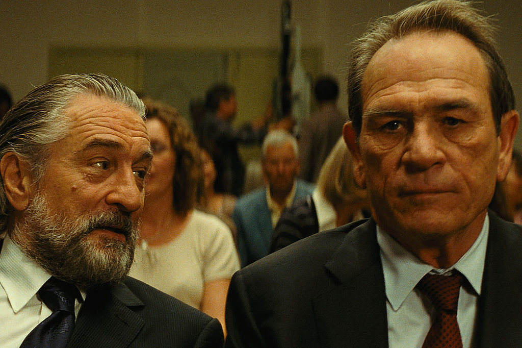 Robert De Niro and Tommy Lee Jones in The Family. Source: EuropaCorp
