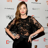 Pictures of Miranda Kerr at Mademoiselle C in NYC on Friday