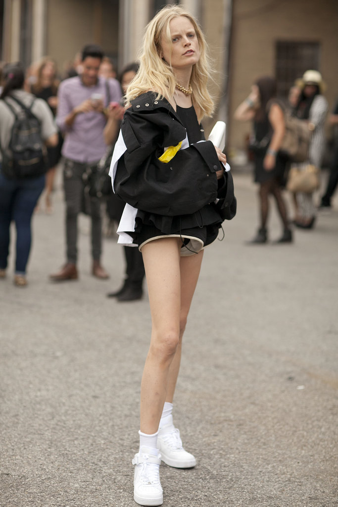 Hanne Gaby Odiele has just as much personality off the runway.