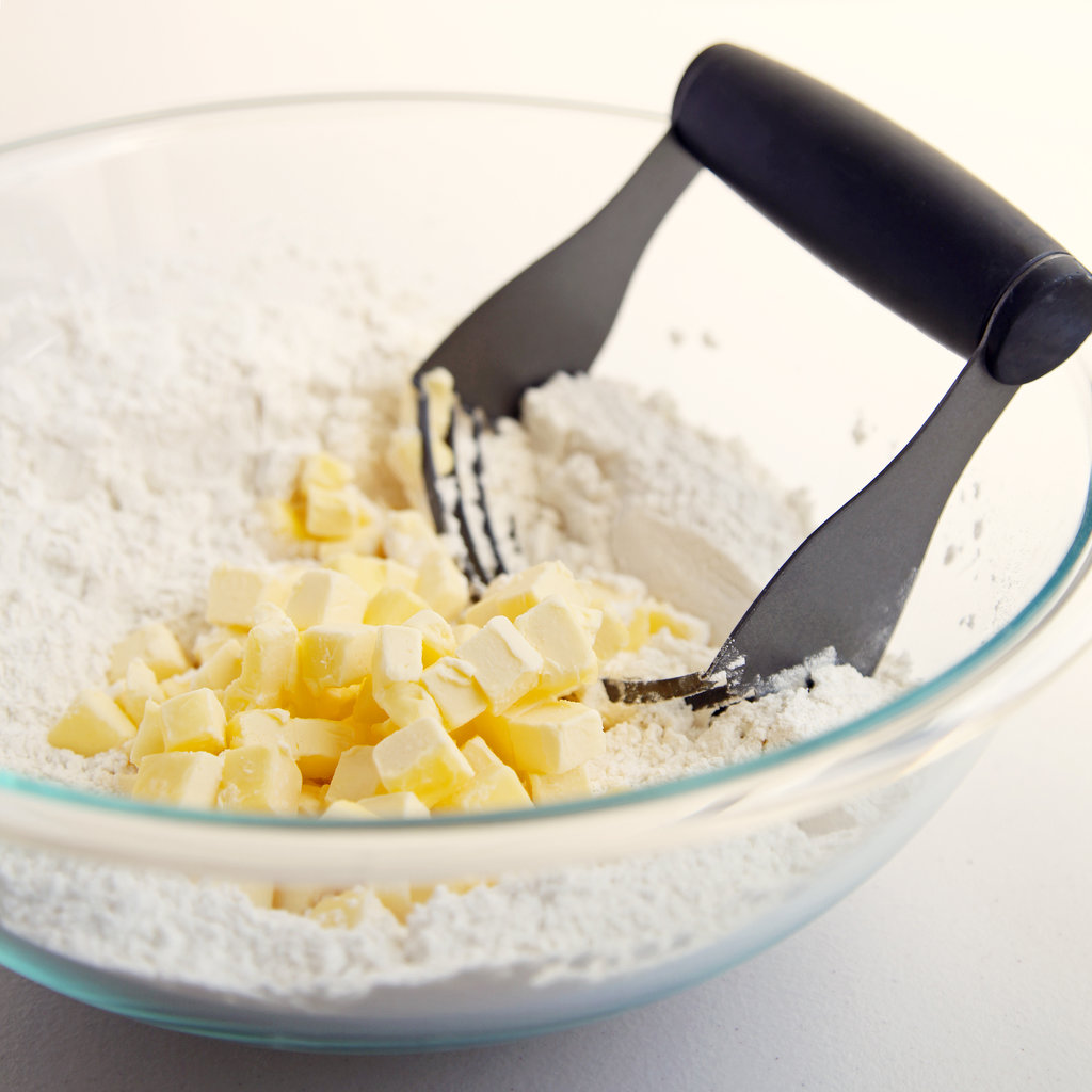 Cut the Butter into the Flour Mixture