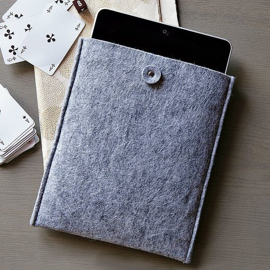 Snuggle your tech in this Felt Tablet Holder ($7, originally $12) from West Elm for a look that's both woodsy and warm.