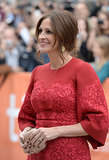 Julia Roberts walked the red carpet for the August: Osage County premiere.