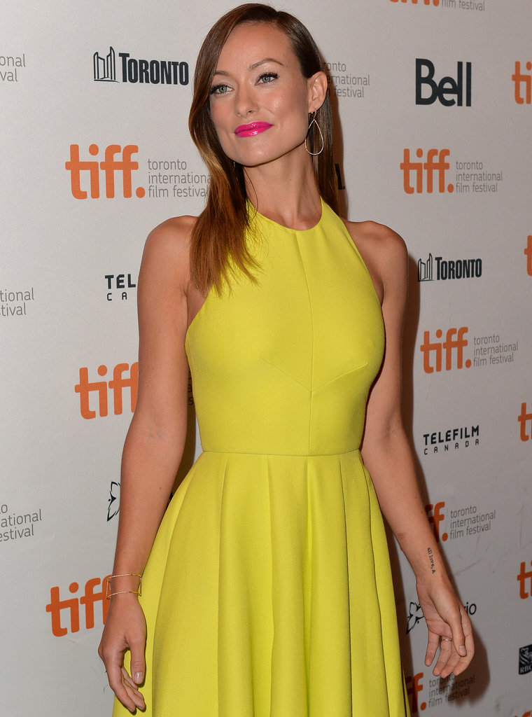Olivia Wilde glowed at the Third Person premiere.
