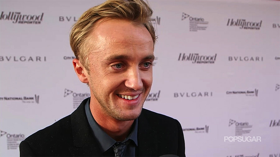 "Tom Felton on Being at TIFF With Daniel Radcliffe: ""We'll Catch Up Over a Pint"""