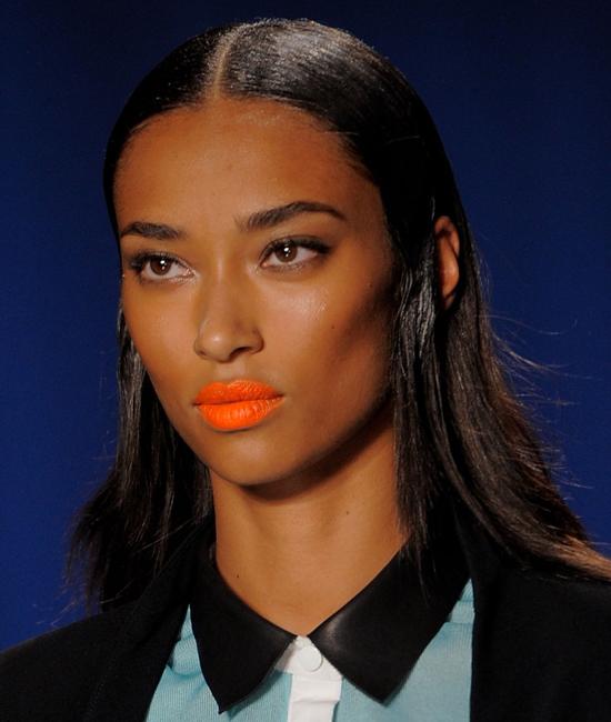 Orange Lipstick Trend Spring 2014