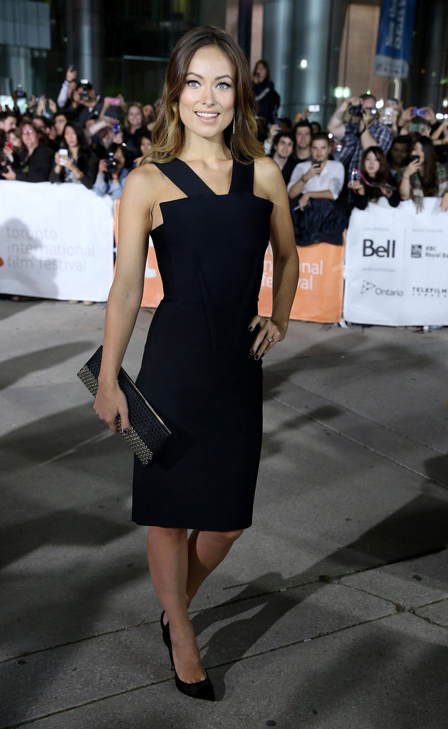Olivia Wilde wore an LBD to the premiere.