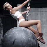 Miley Cyrus Music Video For Wrecking Ball