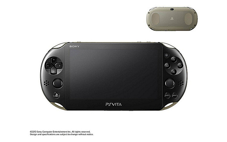 PS Vita PCH-2000 in Khaki/Black