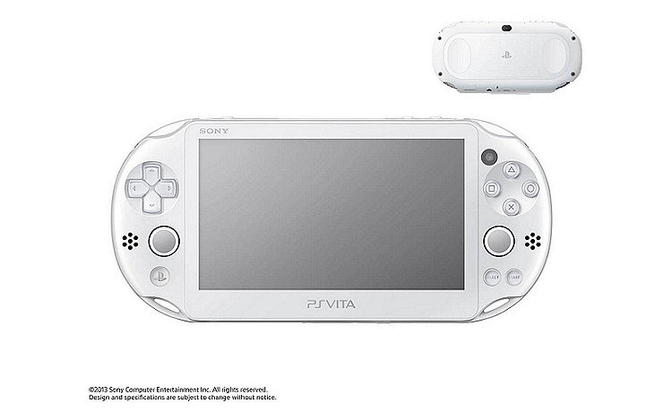 PS Vita in White