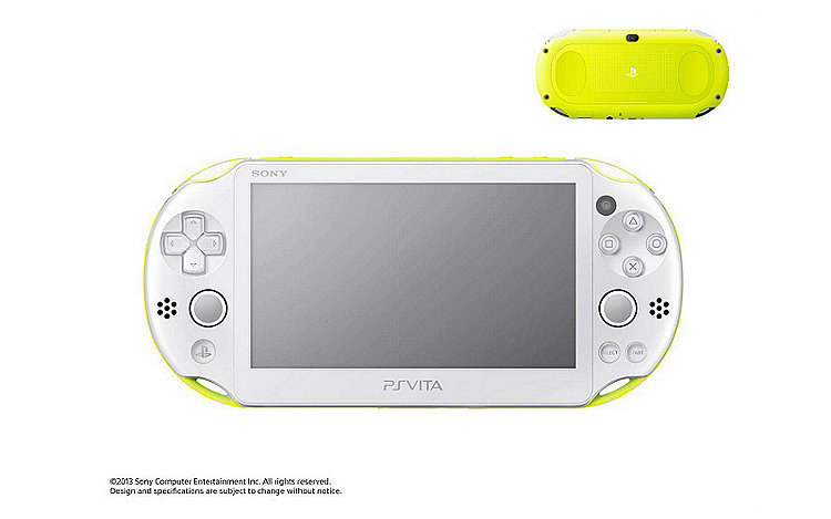 PS Vita PCH-2000 in Lime Green/White