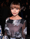 Christina Ricci at Carolina Herrera Spring 2014.