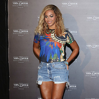 Beyonce Knowles Greeting Fans in Brazil | Pictures