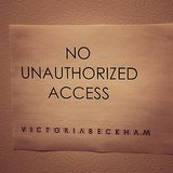 """Victoria Beckham wrote with this photo, """"Keep out, I'm stressed!"""" Source: Instagram user victoriabeckham"""