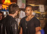 Joseph Morgan and Charles Michael Davis in The Originals.