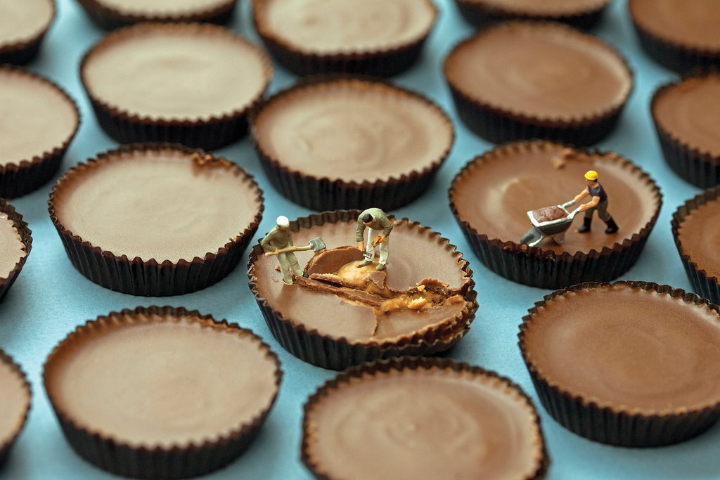Peanut Butter Cup Repair Technicians