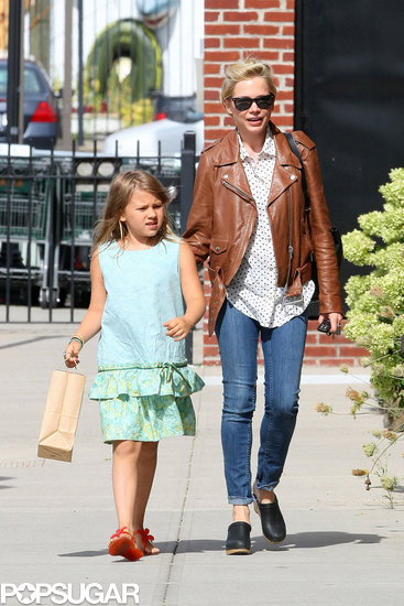 Michelle Williams was all smiles while walking with her daughter, Matilda.