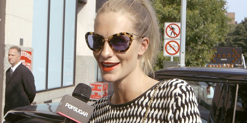 Poppy Delevingne on Backstage Catfights and Being British!