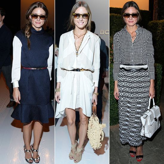 2014 New York Fashion Week Olivia Palermo Ray-Ban Wayfarers