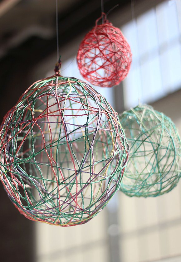 Colorful String Balls