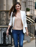Miranda Kerr Can't Get Enough of the US Open