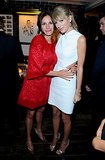 First-timer Taylor Swift linked up with Julia Roberts at the Toronto Film Festival to party it up for their films One Chance and August: Osage County. See all the stars who turned up at TIFF this year.