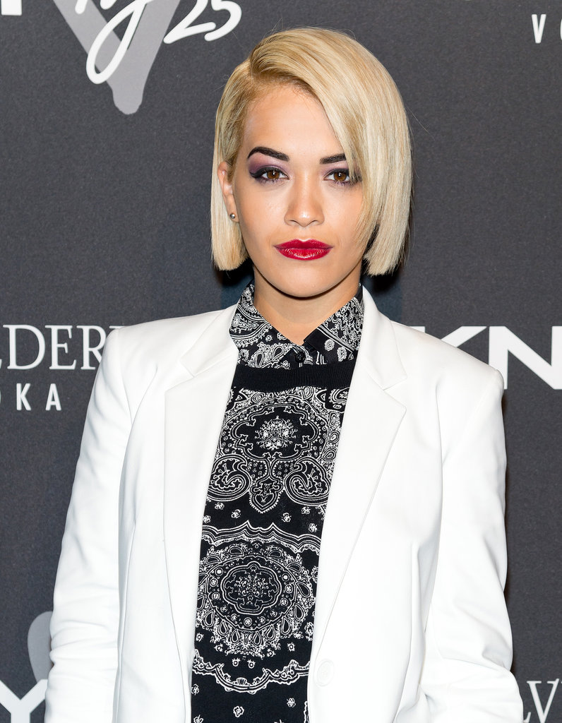 From curls to stick-straight strands, Rita Ora has worn it all.
