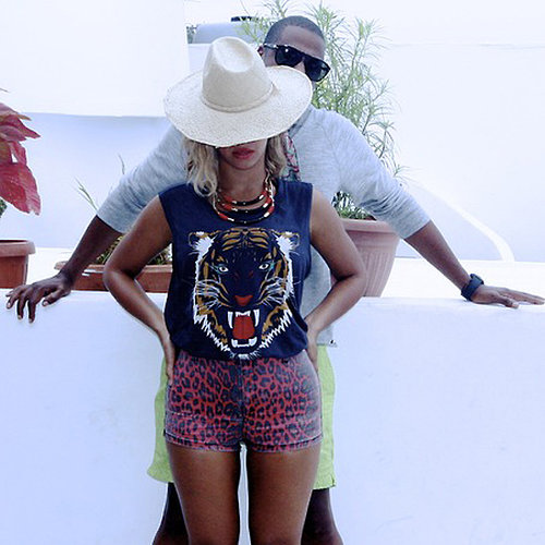 Beyonce European Holiday Pictures From Blog