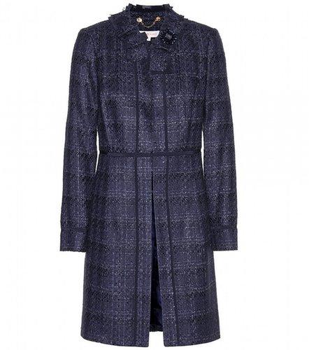 Tory Burch Roseann tweed coat