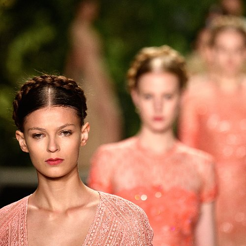 Naeem Khan Beauty at 2014 Spring New York Fashion Week