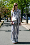 Pinstripes this chic weren't made for Wall Street.
