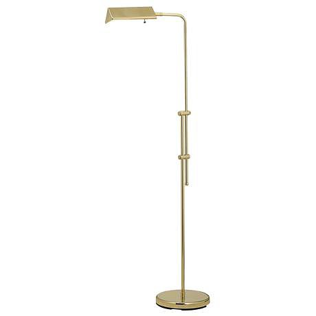 Nothing really beats a good pharmacy floor lamp, ($100) especially in brass. Plus, the price makes this one irresistible!