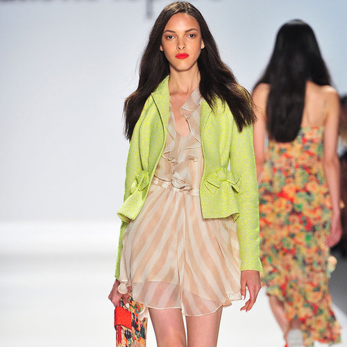 2014 New York Fashion Week Runway Nanette Lepore