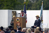 Secretary of the Interior Sally Jewell addressed an audience at the Flight 93 National Memorial in Shanksville, PA.