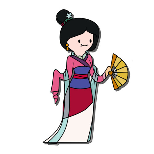 Adventure Time Mulan