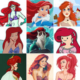Artistic Twists on Disney Princesses (With New Additions!)