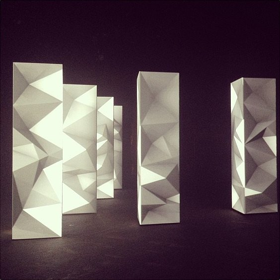Joanna Hillman's shot of Dion Lee's installation was a work of art. Source: Instagram user joannahillman