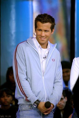 Ryan Reynolds was a special celebrity host on TRL in 2002.