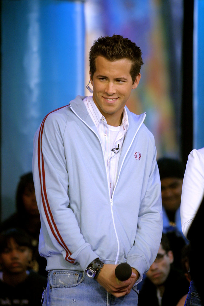 Ryan Reynolds was a special celebrity host on TRL in 2002.