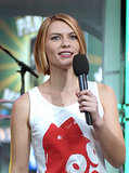 Claire Danes took the TRL mic for her appearance in 2003.