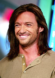Hugh Jackman sported a longer 'do during his TRL appearance in 2003.