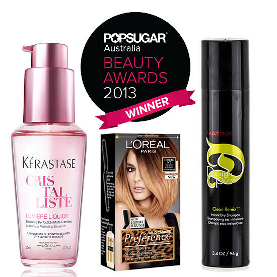 POPSUGAR Australia Beauty Awards 2013: The Winning Hair Products