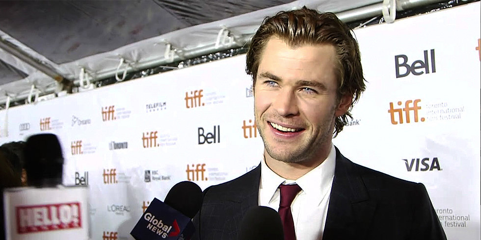 """Chris Hemsworth Explains Why Prepping For Rush Was a """"Boring"""" Process at the Film's Premiere"""