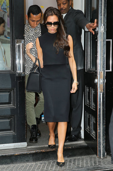 Victoria Beckham Gets Dressed Up to Shop at J.Crew