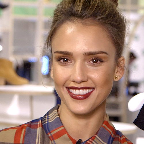 Jessica Alba Piperlime Editor Video Interview