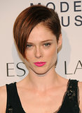 Want to give your pixie an edgy vibe? Then make like Coco Rocha and opt for this asymmetric, shorn-on-the-side coif.
