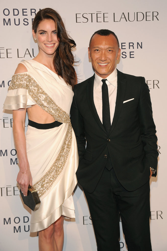 Hilary Rhoda worked Prabal Gurung and joined Joe Zee for Estée Lauder.
