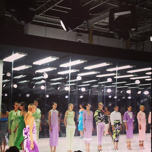 Prabal Gurung's show was borderline art.