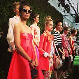 Kate Spade New York took its classic American girl to Europe for Spring.